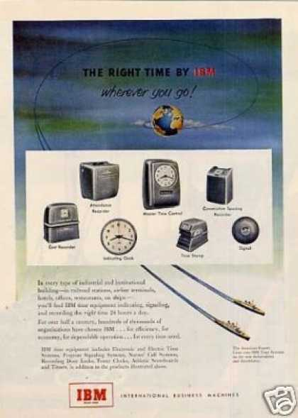 Ibm Time Equipment (1951)