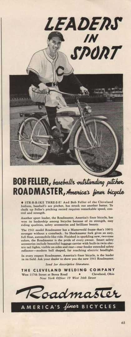 Leaders In Sport Roadmaster Bicycle (1941)