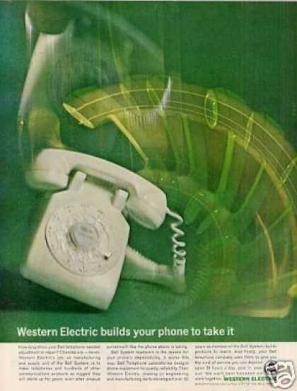 "Western Electric Ad ""Builds Your Phone... (1964)"