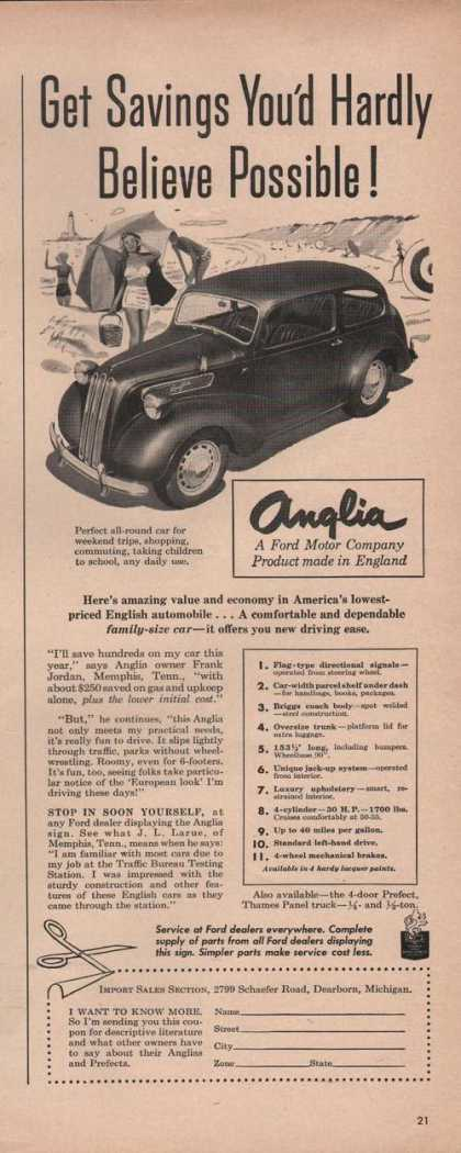 English Anglia Automobile (1949)