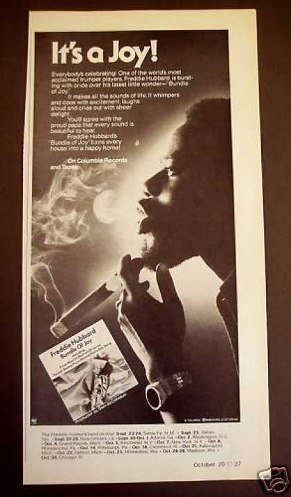 Freddie Hubbard 'bundle of Joy' Music Promo (1977)