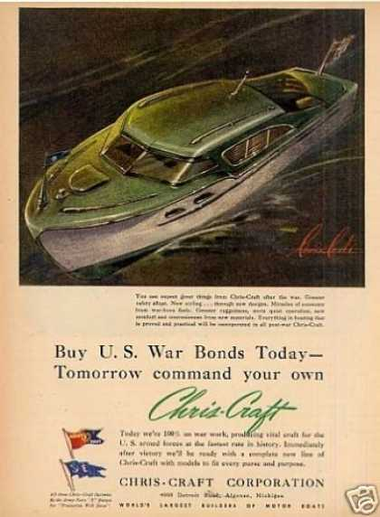 Chris-craft Boat (1943)