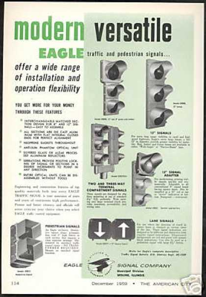 Eagle Traffic Light Pedestrian Signal Company (1959)