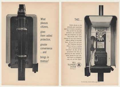 Bell Telephone Public Pay Phone (1964)