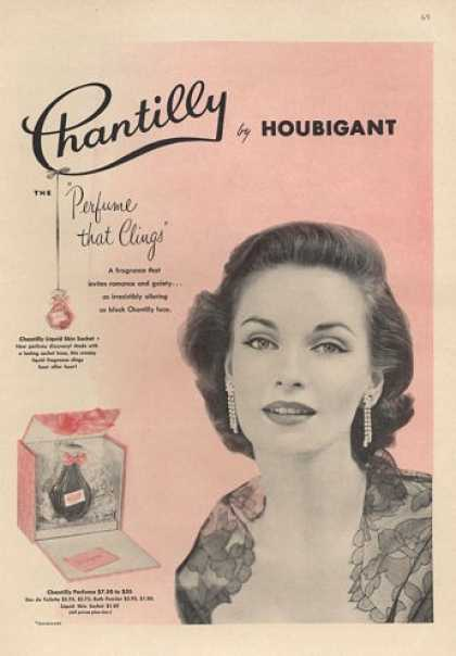 Chantilly Houbigant Perfume (1953)