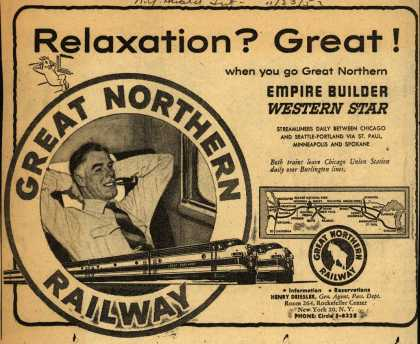 Great Northern Railway's Western Star – Relaxation? Great (1953)