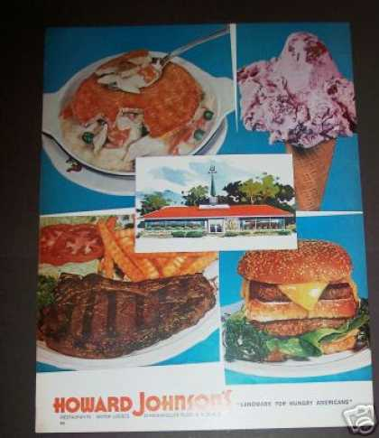 Original Howard Johnson's Restaurant Landmark (1963)