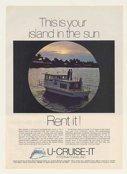 U-Cruise-It Houseboat Photo (1969)