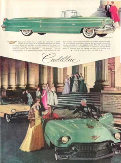 Cadillac Ad Bergdorf Goodman Gowns, Boston Museum (1956)