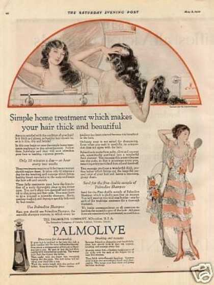 Palmolive Shampoo Color (1920)