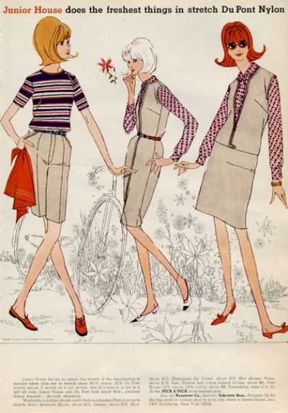 Peck & Peck Jr House Fashion Parker Art (1965)