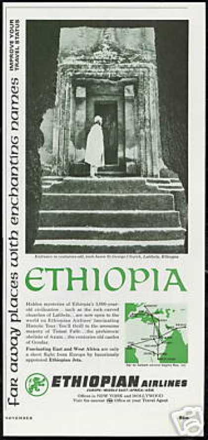 Ethiopian Airlines St George Church Ethiopia (1966)
