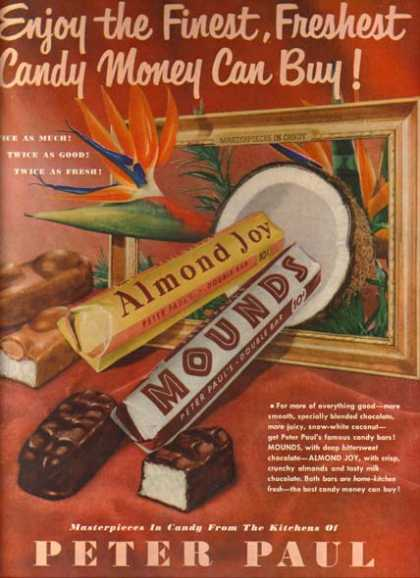 Peter Paul&#8217;s Almond Joy (1951)