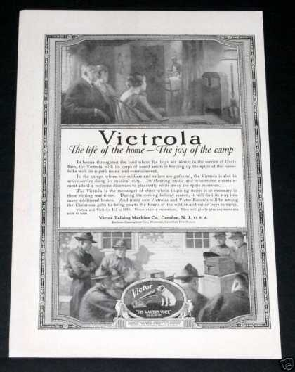 Victrola, Life of the Camp (1918)