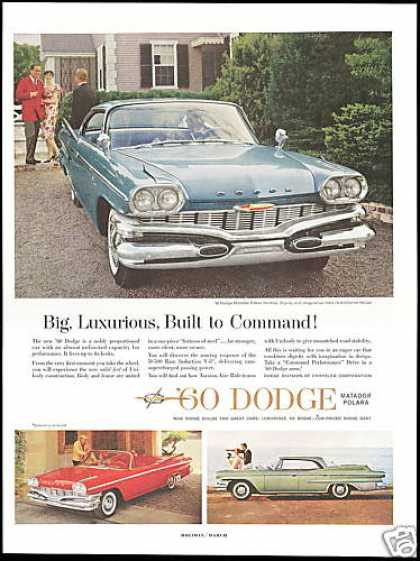 Dodge Matador Dart Convertible 3 Car (1960)