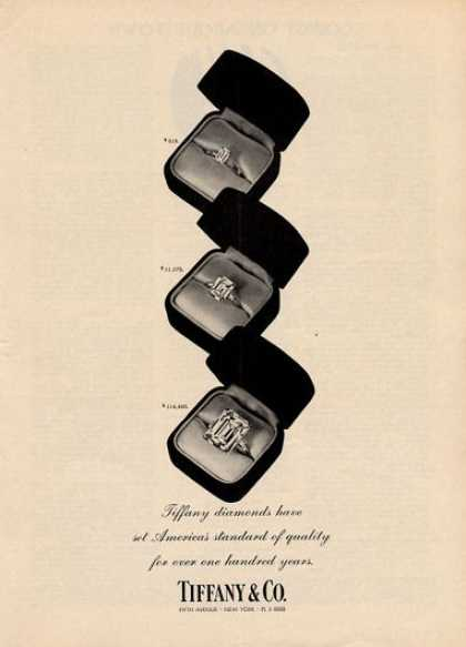 Tiffany & Co. Three Diamonds... (1961)