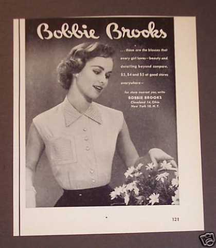 Bobbie Brooks Womens Blouses Shirts (1953)