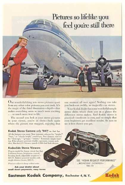 Pan Am Clipper Mayflower Kodak Stereo Camera (1955)
