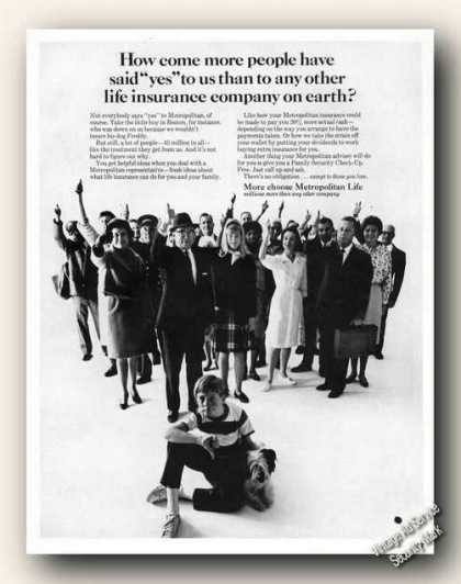 Metropolitan Life More People Say Yes To Us (1966)