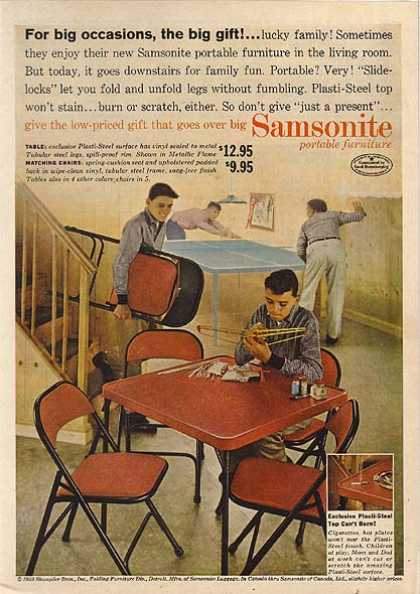 Samsonite's Portable Furniture (1959)