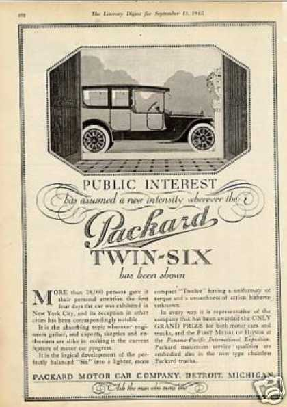 Packard Twin-six Car (1915)