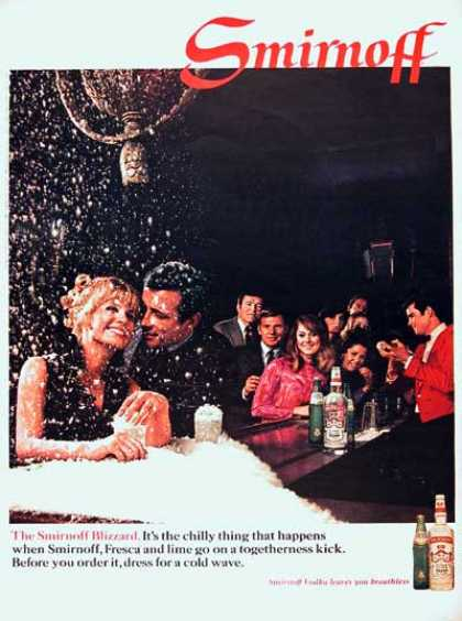 Smirnoff Vodka (2 Ads) (1968)