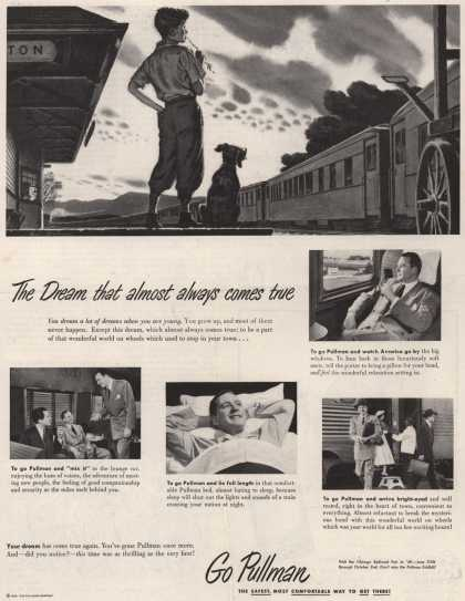 Pullman Company – The Dream that almost always comes true (1949)