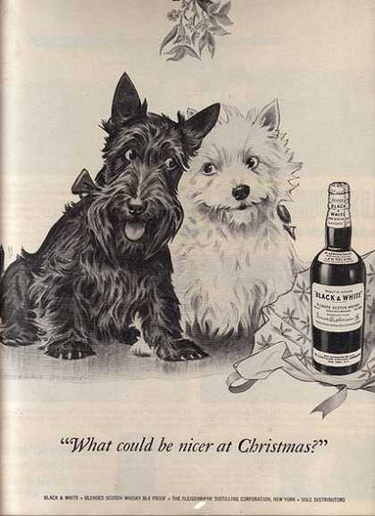 Black and White's Blended Scotch Whiskey