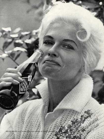 Helen Mann Photo Collectible Royal Crown Cola (1962)