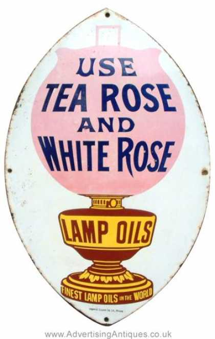 Tea Rose & White Rose Lamp Oils
