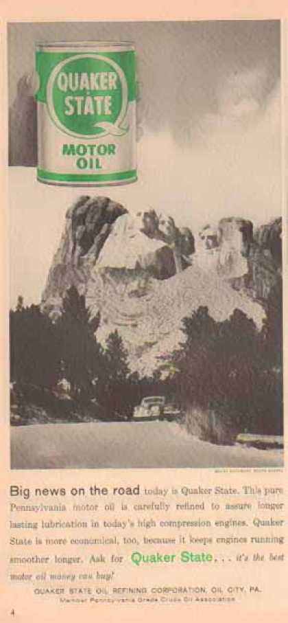 Quaker State – Mount Rushmore, South Dakota (1958)