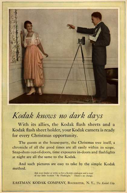 Kodak – Kodak knows no dark days (1917)