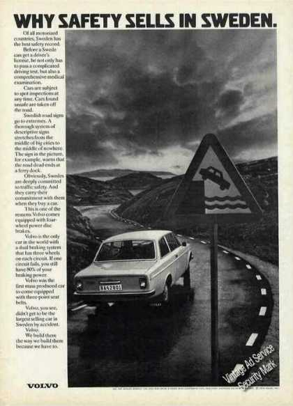 "Volvo ""Why Safety Sells In Sweden"" (1972)"