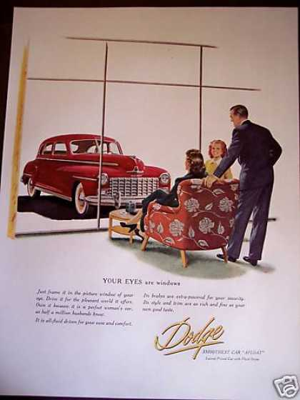 Dodge Smoothest Car Original (1948)
