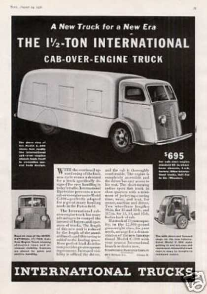 International Truck Ad Model C-300 (1936)