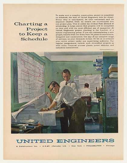 United Engineers Charting Project Robert Lavin (1963)