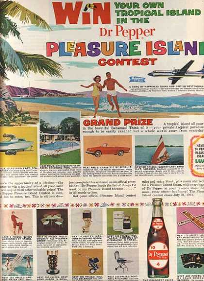 Dr. Pepper's Pleasure Island Contest (1961)