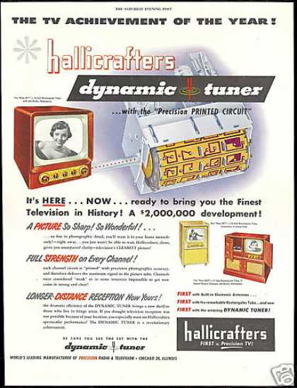 Hallicrafters TV Television Dynamic Tuner (1950)