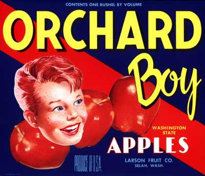 Orchard Boy Apples, c. s (1940)