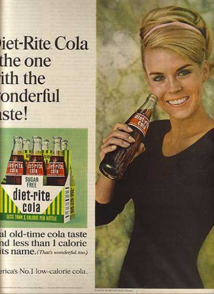 Diet-Rite's Sugar Free Cola (1967)