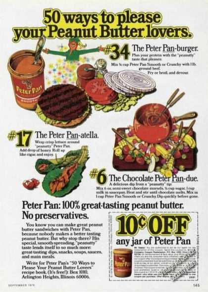 50 Ways To Please Your Peanut Butter Lovers (1976)