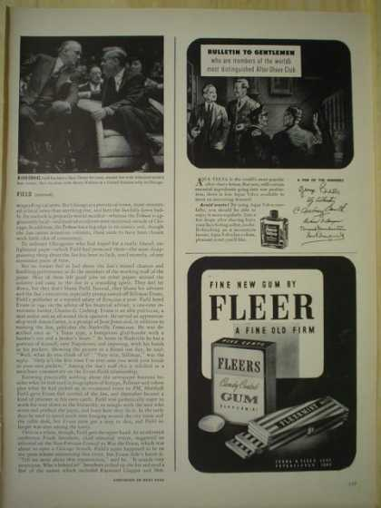 Fleers Fleer chewing gum. A fine old firm (1943)