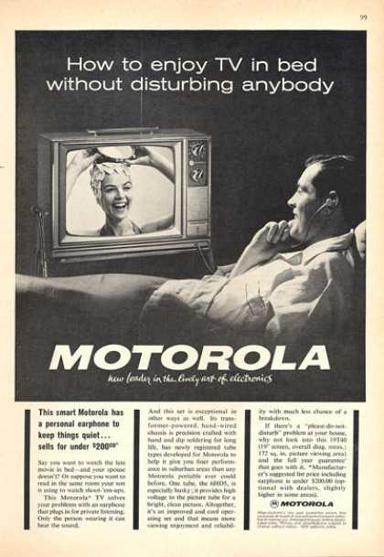Motorola Tv Television (1963)