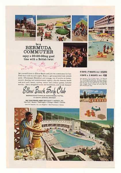 Elbow Beach Surf Club Hotel Bermuda Photo (1966)