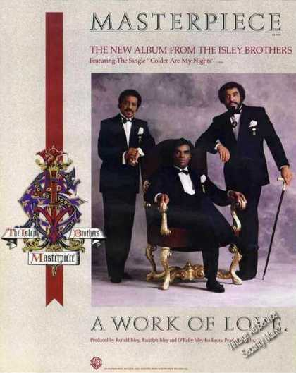 "Nice Isley Brothers Photo ""A Work of Love"" (1985)"