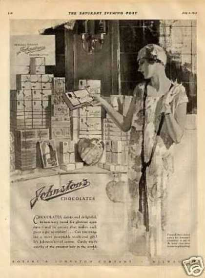 Johnston's Chocolate Candy (1925)