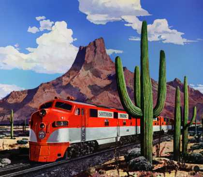 The trains that never stop Standard Oil of 			California (1948)