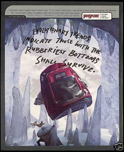 Ice Cave Evolution Jansport BackPack (1996)
