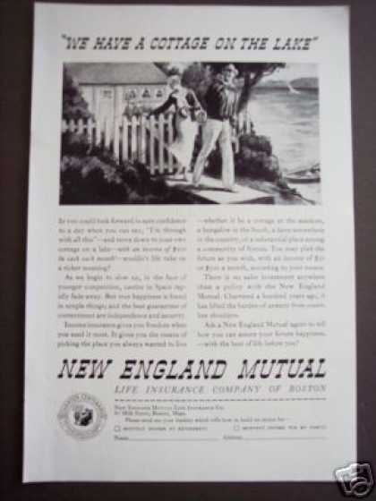 New England Mutual Income Insurance Art (1935)