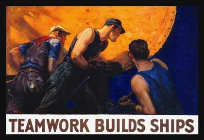 Teamwork Builds Ships (1917)